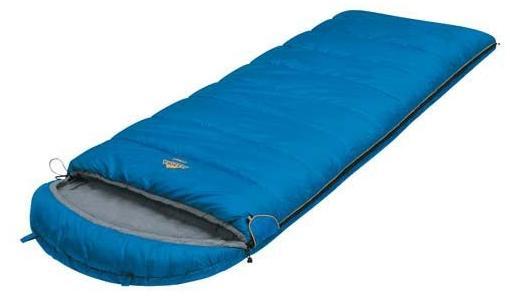 Мешок спальный CAMPING PLUS синий, одеяло, левый, 6252.01052