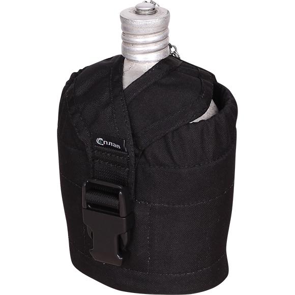 Купить Подсумок для отечественной армейской фляги черный, Компания «Сплав»