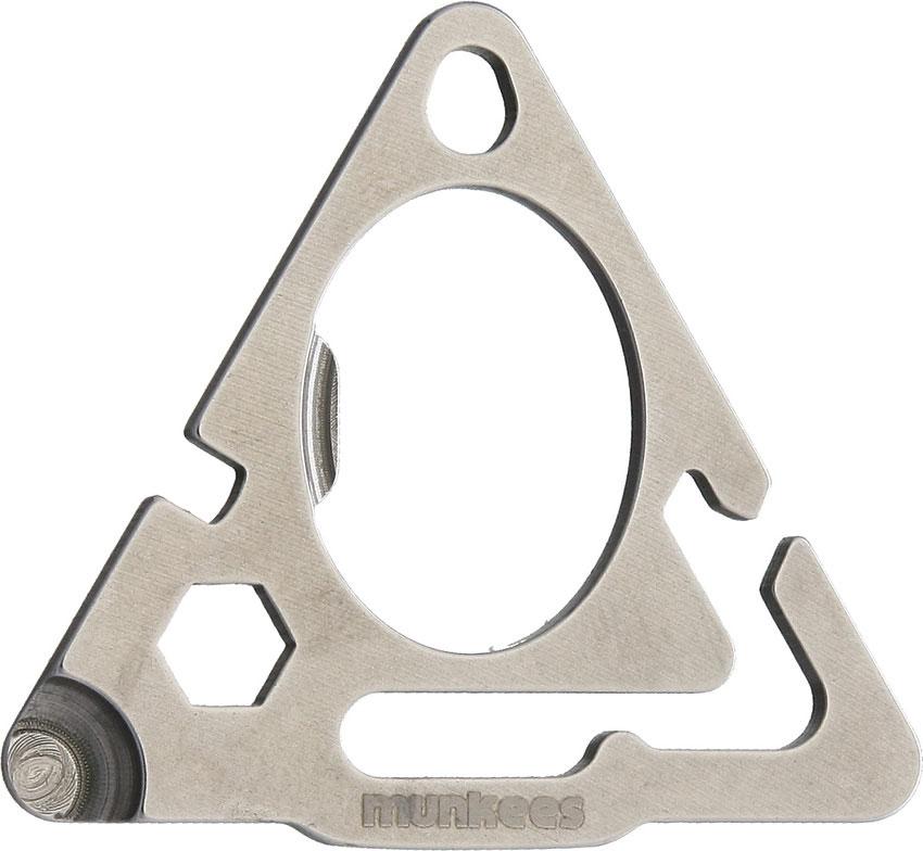 Мультитул в форме треугольника. из нержавеющей стали Stainless Triangle Tools (упак=10 шт) - 1 цвет, 2505, Прочий инструмент - арт. 827570407