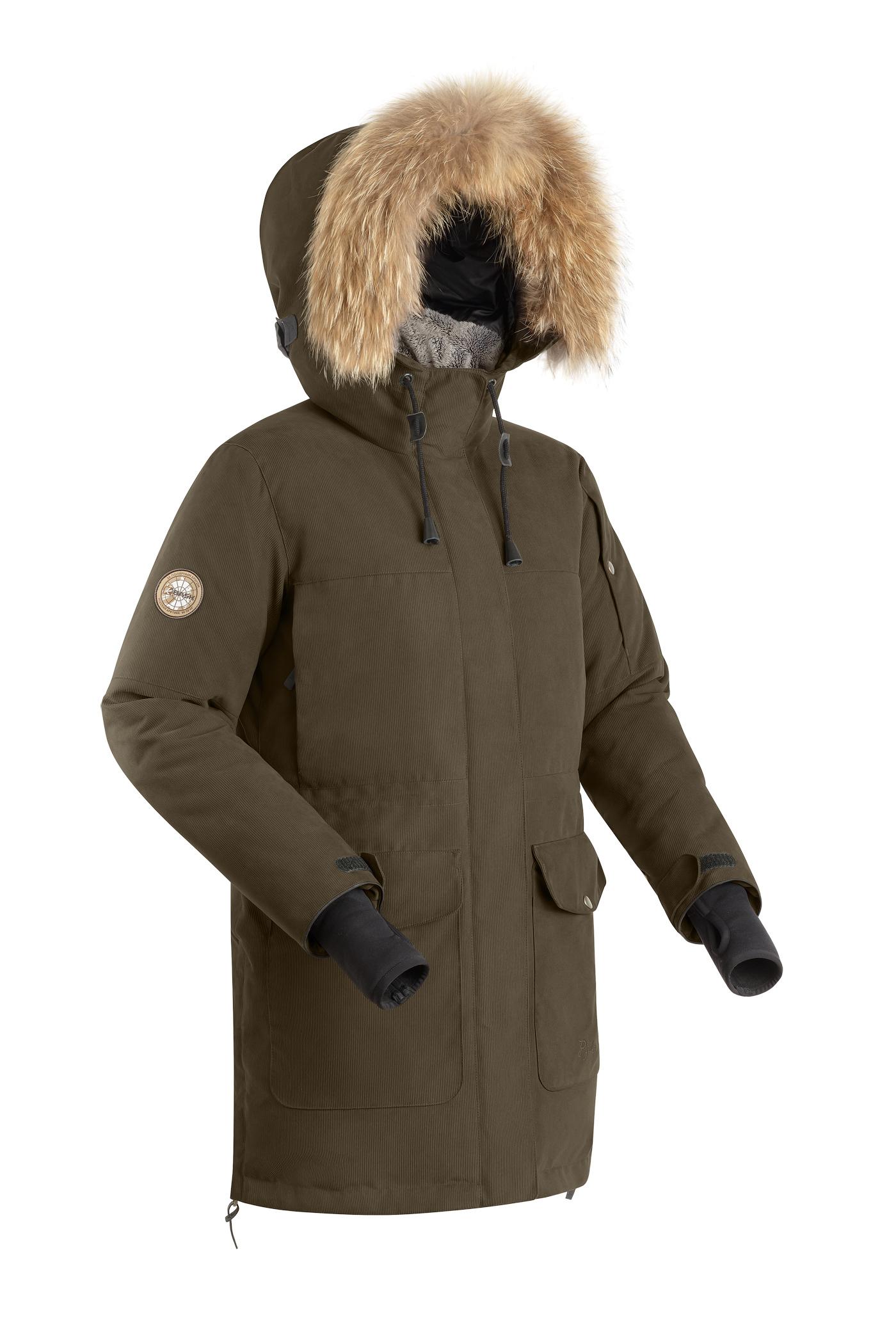 Купить Куртка пуховая женская BASK IREMEL V2 ХАКИ, Компания БАСК