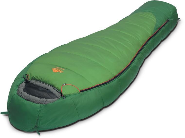Мешок спальный MOUNTAIN зеленый, левый, 9221.01012, Трехсезонные (Весна/Осень) спальники - арт. 279780371