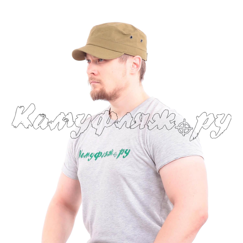 Кепи Keotica Combat с коротким козырьком палаточное полотно хаки