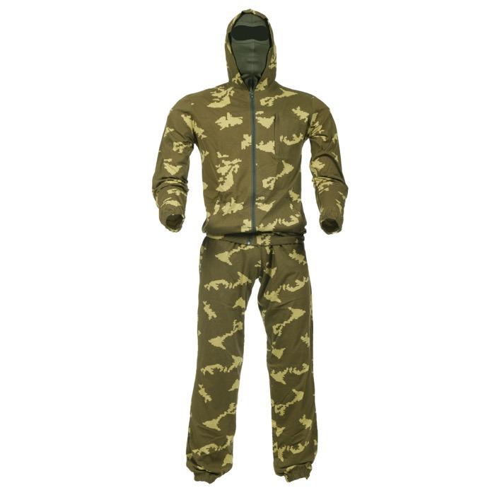 Костюм трикотажный березка желтая, Маскхалаты - арт. 981750240