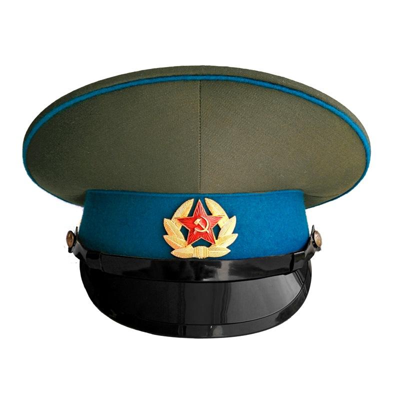 Купить Фуражка ВДВ-ВВС СССР с голубым околышем уставная, Полковник Воронов