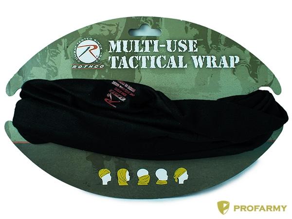 Шарф-бандана Multi-Use Tactical Black 5301