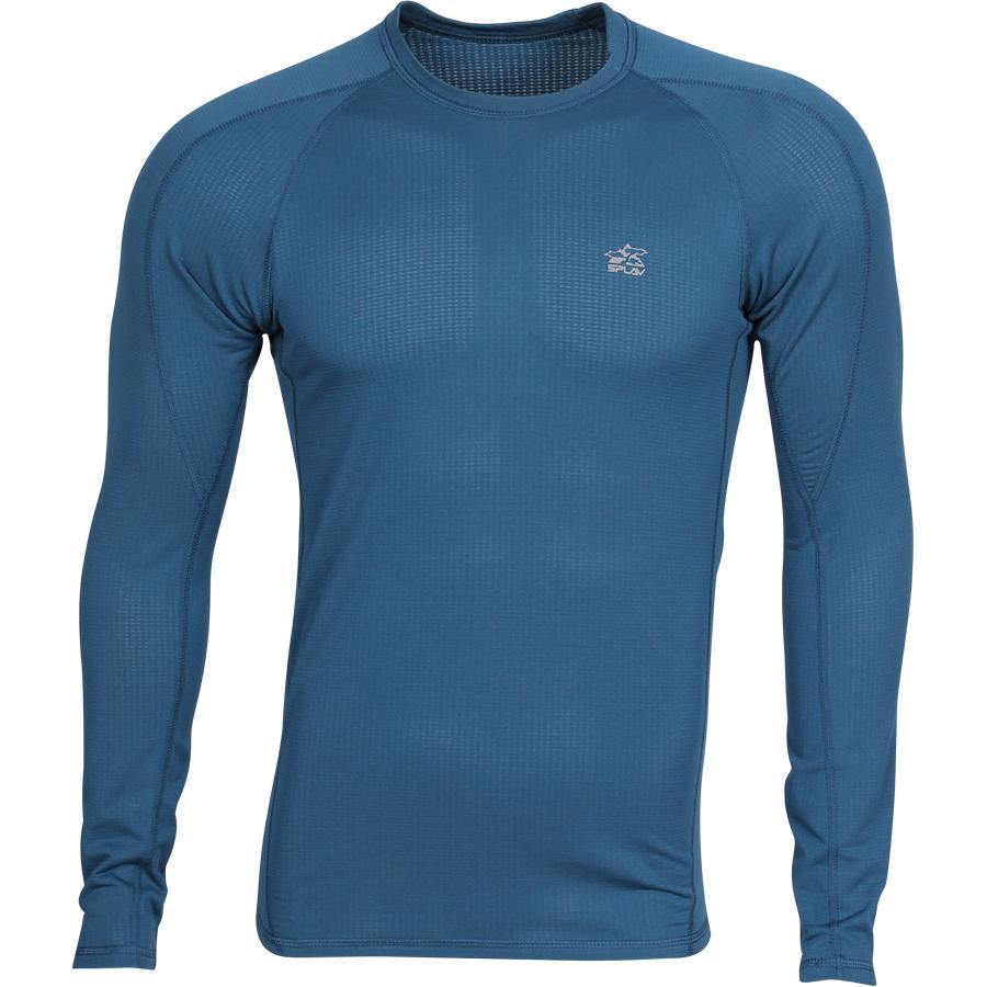 Термобелье футболка L/S Active Thermal Grid light морская волна, Футболки - арт. 1028190179