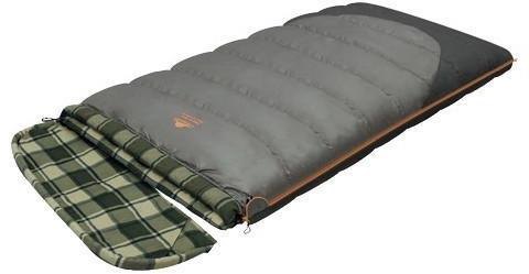 Мешок спальный SIBERIA WIDE TRANSFORMER одеяло, серый, правы