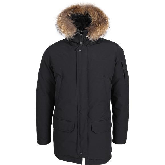 Пуховка Amundsen черная, Зимние куртки - арт. 975470333