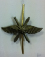 Эмблема петличная ВКС полевая метал
