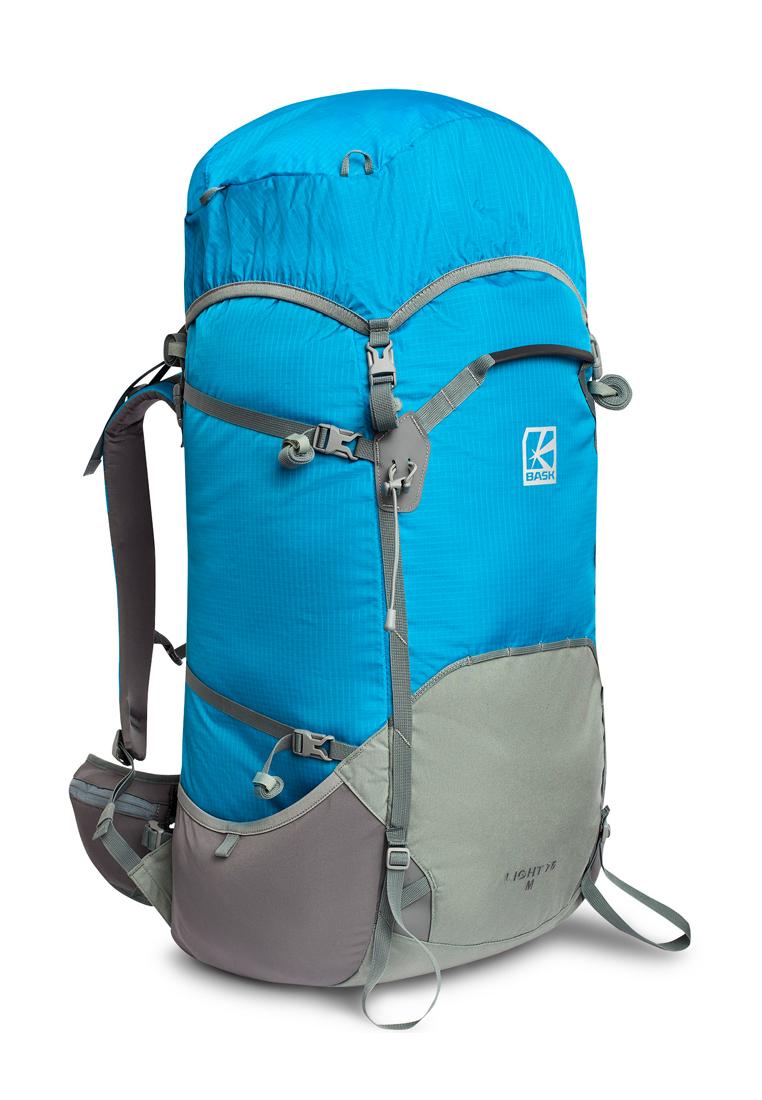 Купить Туристического рюкзак LIGHT 75 V2 голубой, Компания БАСК