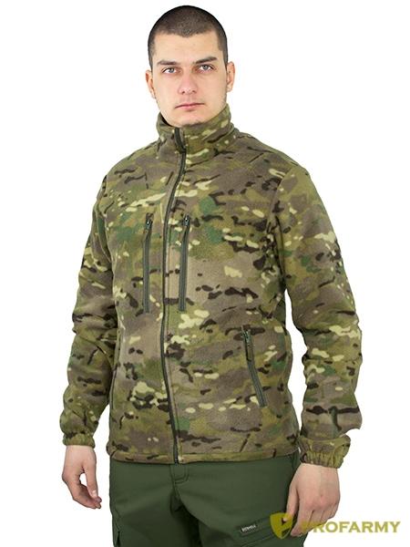 Куртка HUSKY-2 PF флисовая мультикам, Куртки из Polartec и флиса - арт. 1052250330
