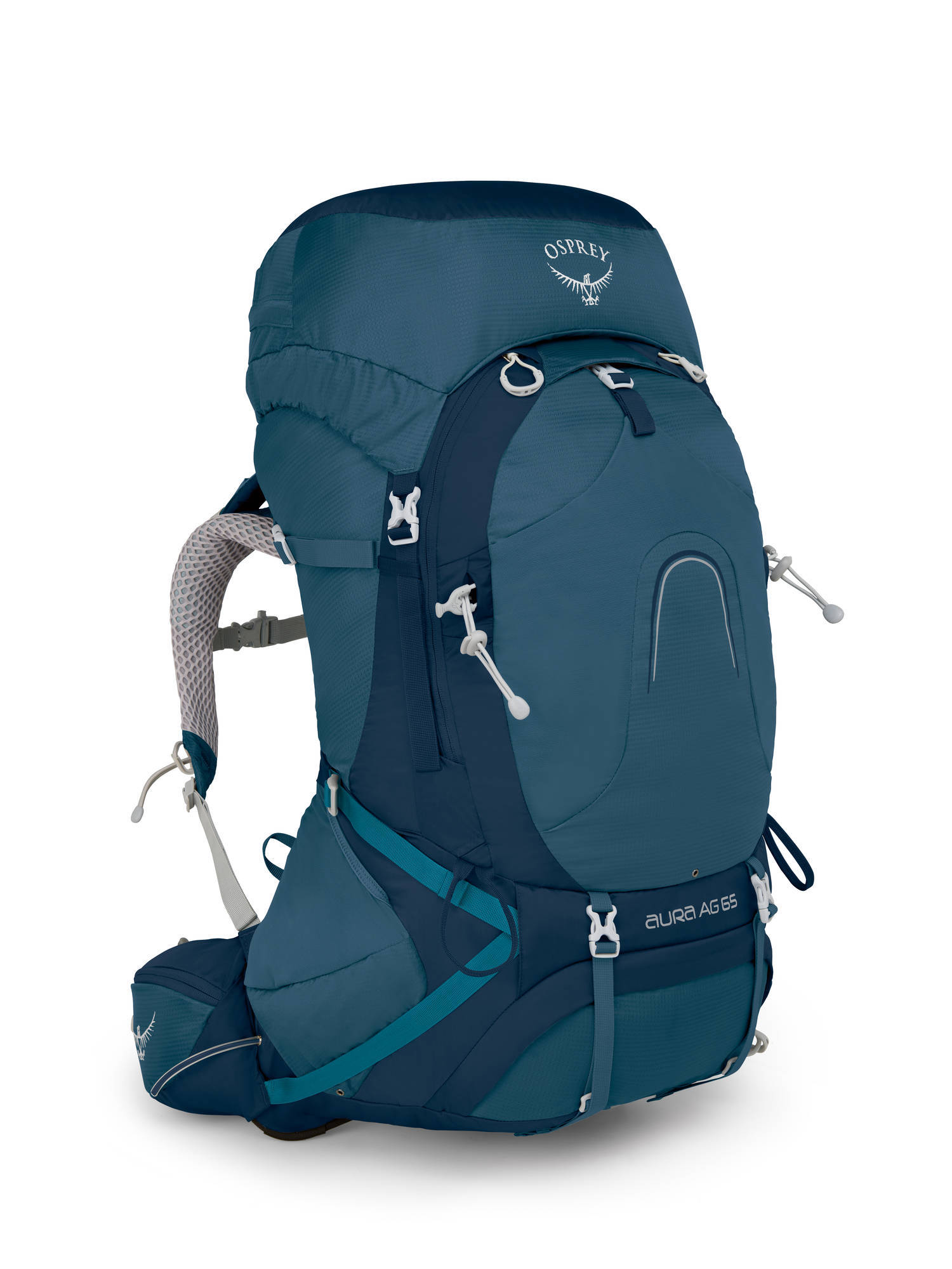 Рюкзак женский Osprey Aura AG 65 WM Women Challenger Blue, 1043160.126, Женские рюкзаки - арт. 1032770288