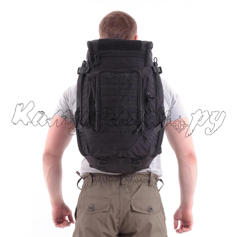 Рюкзак KE Tactical Sturm 40л Polyamide 500 Den черный, Тактические рюкзаки - арт. 1004440264
