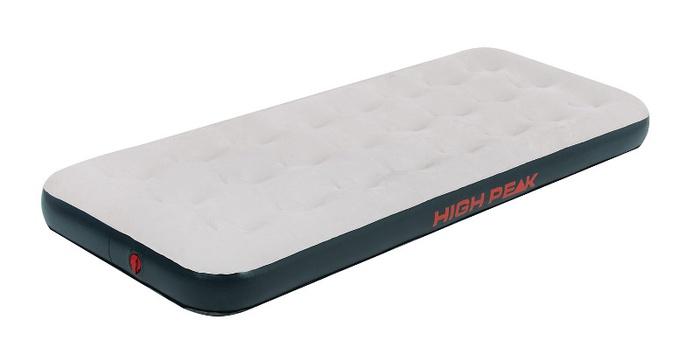 Матрас надувной Air bed Single светло-серый/темно-серый, 185х74х20см, 40032, Постельные принадлежности - арт. 1039670397