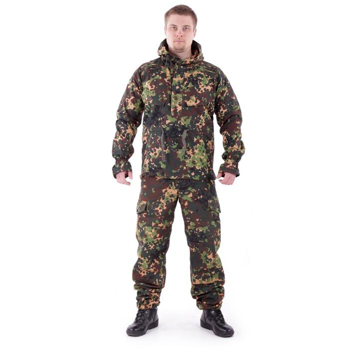 Костюм Снайпер-2 анорак рип-стоп с налокотниками и наколенниками излом, Куртки - арт. 983370156