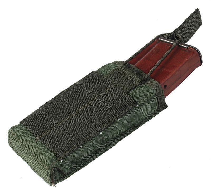 18497020 Подсумок модульный для магазина АК №1 (molle) олива 3597, Подсумки - арт. 916220193