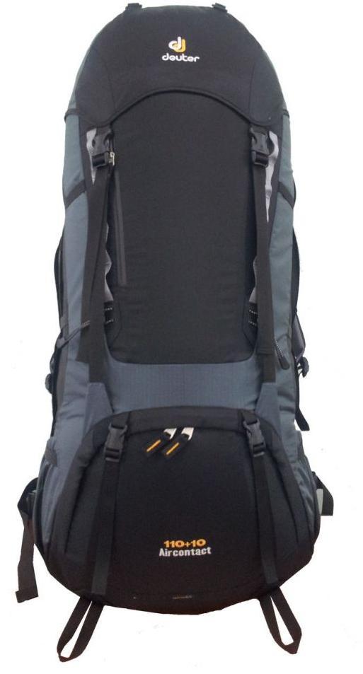 Рюкзак Deuter 2015 SMU Aircontact 110+10 black-granite