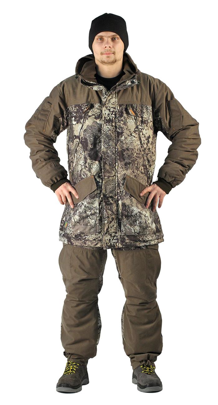 Купить Костюм демисезонный ГЕРКОН-ВЕСНА/ОСЕНЬ куртка/брюки, камуфляж серая глина/хаки, ткань: алова, Ursus