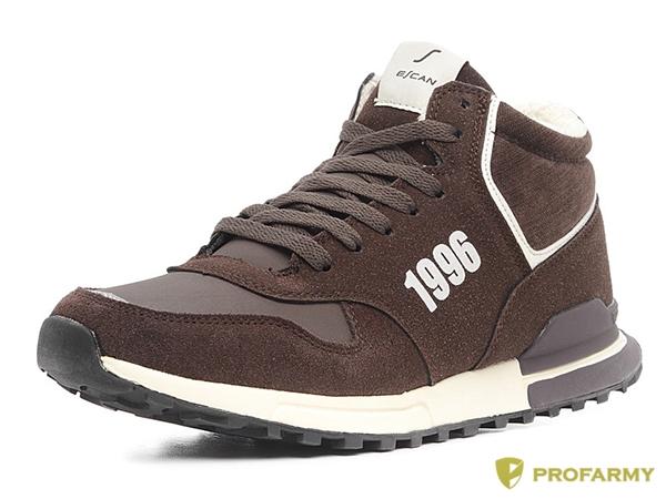 Кроссовки Escan ES850029-3 коричневые