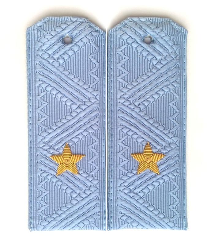 Погоны ФСБ генерал-майор на синюю рубашку повседневные