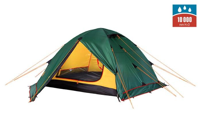 Палатка RONDO 4 Plus Fib green, 9123.4801, Палатки четырехместные - арт. 1027250322