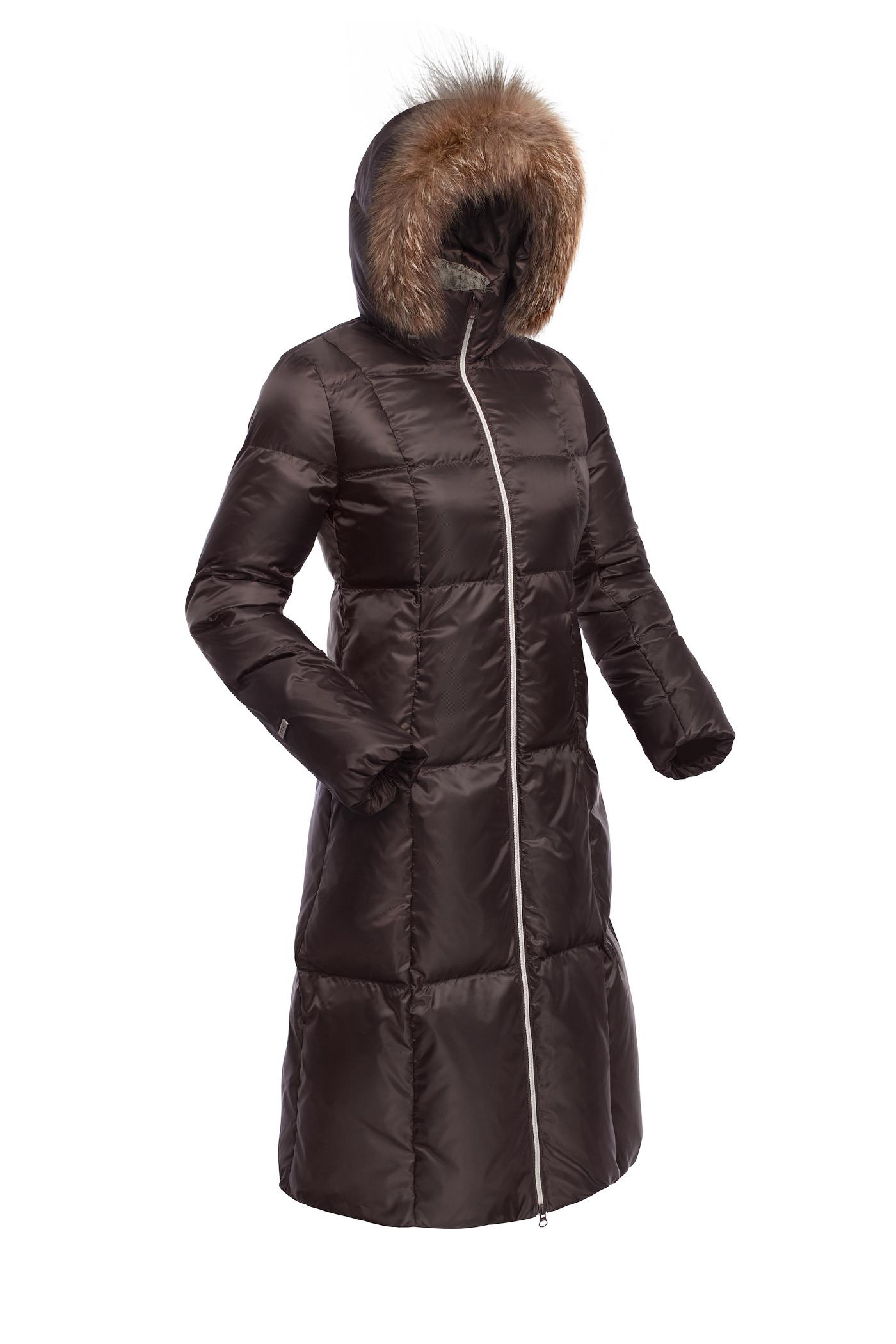 Пальто пуховое женское BASK DANA темный бордо, Пальто - арт. 995970409