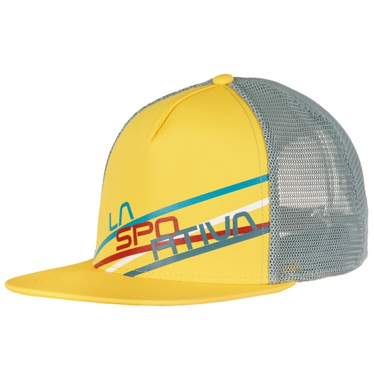 Купить Кепка Trucker Hat Stripe 2.0 Lemonade/Stone Blue, X61106904, La Sportiva