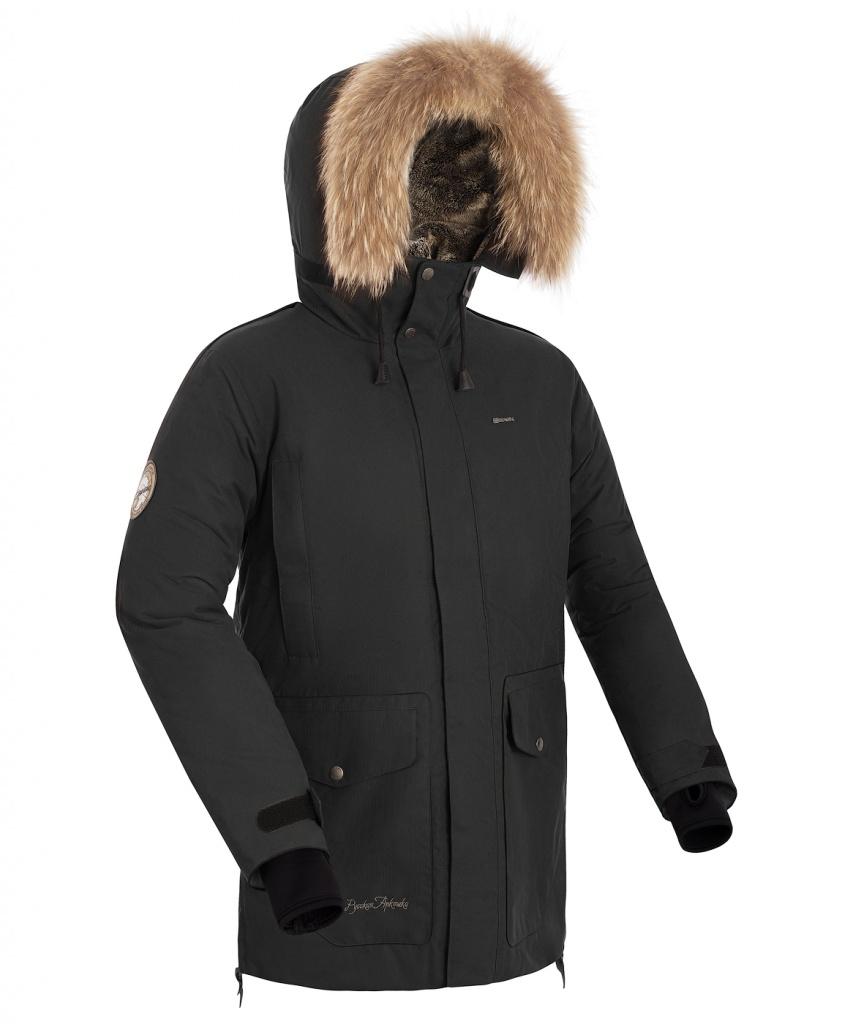 Куртка пуховая мужская PUTORANA V2 ЧЕРНЫЙ