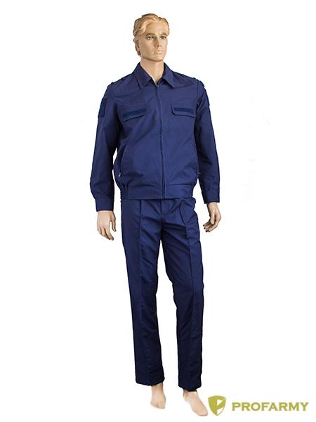 Костюм МПА-35 штабной RipStop синий, Форменные костюмы - арт. 902180247