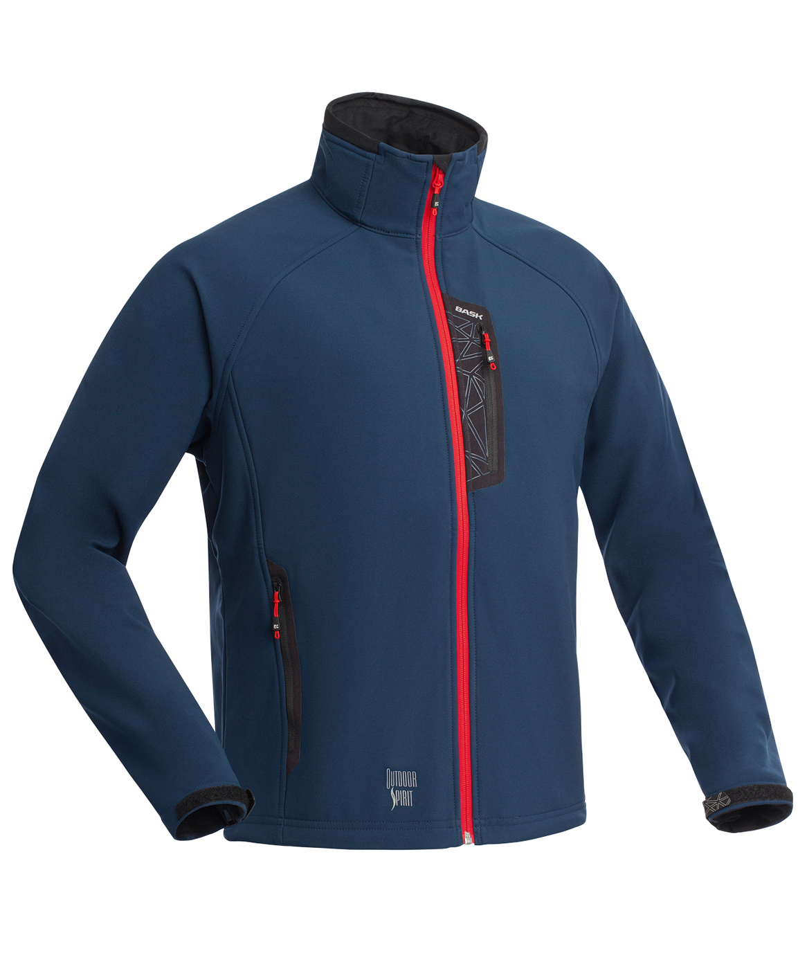 Куртка BASK PANZER V5 темно-синий, Куртки из Polartec и флиса - арт. 994710330