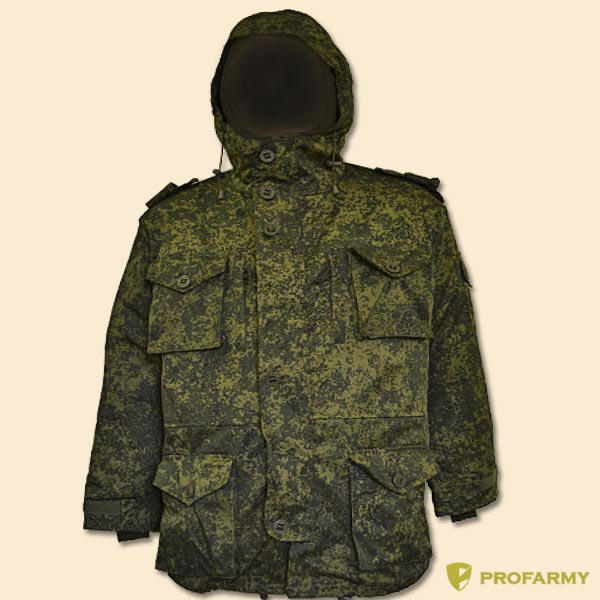 Куртка зимняя Дублер пиксель