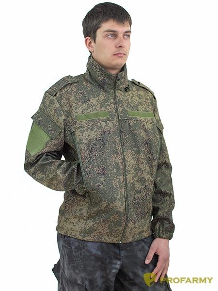 Куртка ВКБО Softshell пиксель