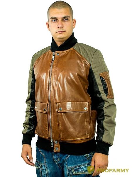 Куртка МК/17-4К Maxsibas Vegital+Baron Black Oxford khaki light, Демисезонные куртки - арт. 1052870334