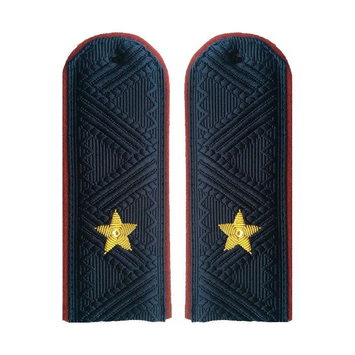 Погоны УИС (ФСИН) генерал-майор на китель повседневные