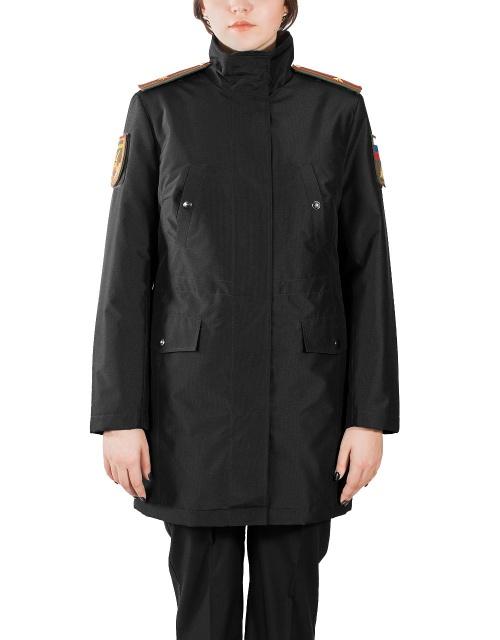 Купить Куртка женская демисезонная МПА-59 (черный/рип-стоп), Магеллан