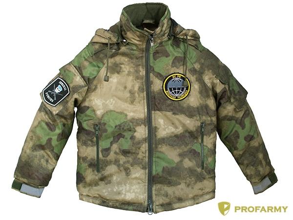 Куртка зимняя детская Воин DPO-17 оксфорд FG, Куртки - арт. 1112120156