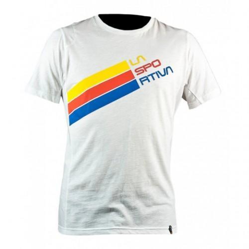 Купить Футболка Stripe Logo T-Shirt W White, I06WH, La Sportiva