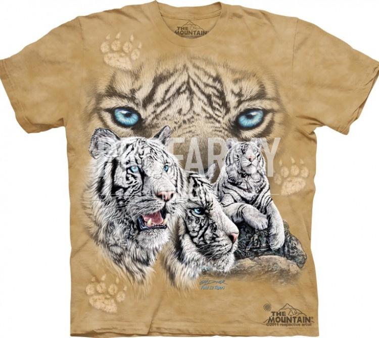 Купить Футболка Найди 10 тигров 10-3462, The Mountain