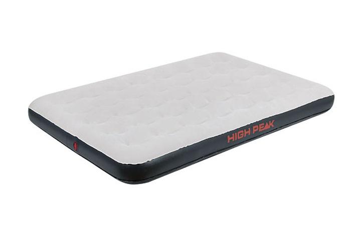 Матрас надувной Air bed Double светло-серый/темно-серый, 197х138х20 см, 40034, Постельные принадлежности - арт. 1039600397