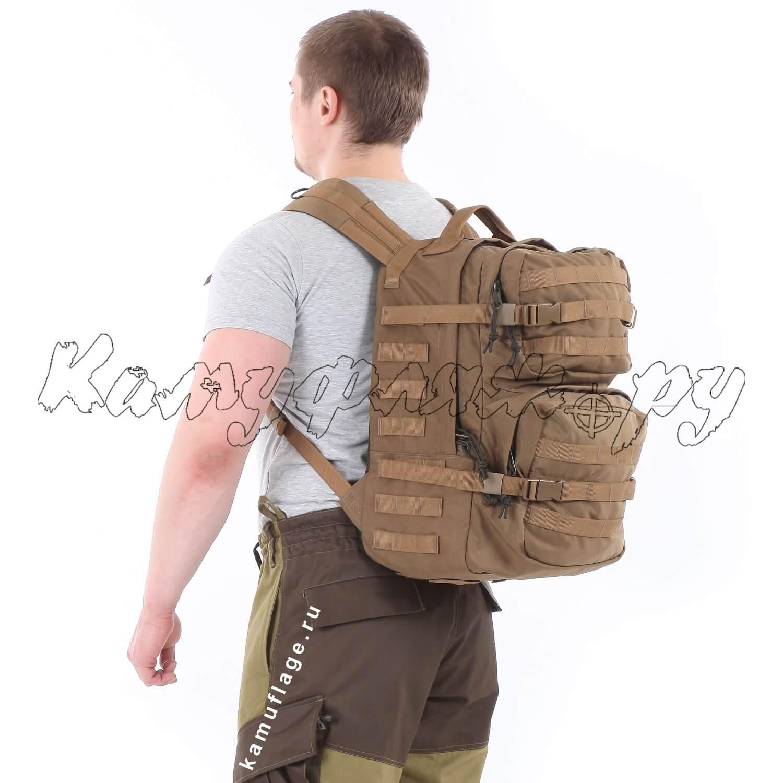 Рюкзак KE Tactical Assault 40л Polyamide 500 Den coyote, Тактические рюкзаки - арт. 1001560264