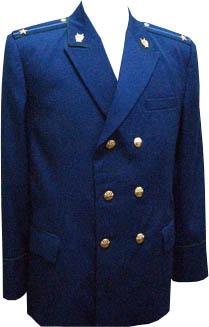 Китель Прокуратура двубортный синий индивидуальный пошив - артикул: 419150232