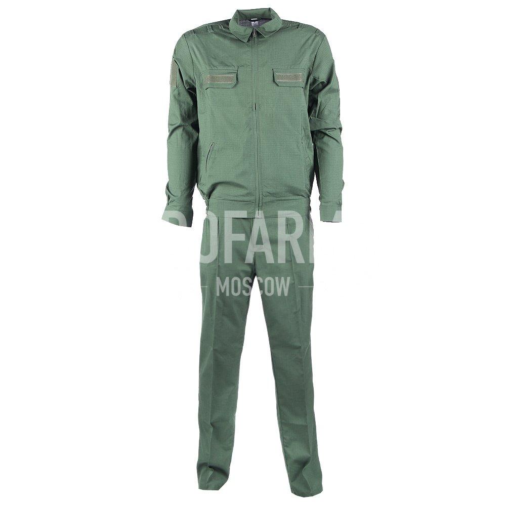 Костюм офисный МО длинный рукав, RipStop 170, (зеленый), Форменные костюмы - арт. 864490247