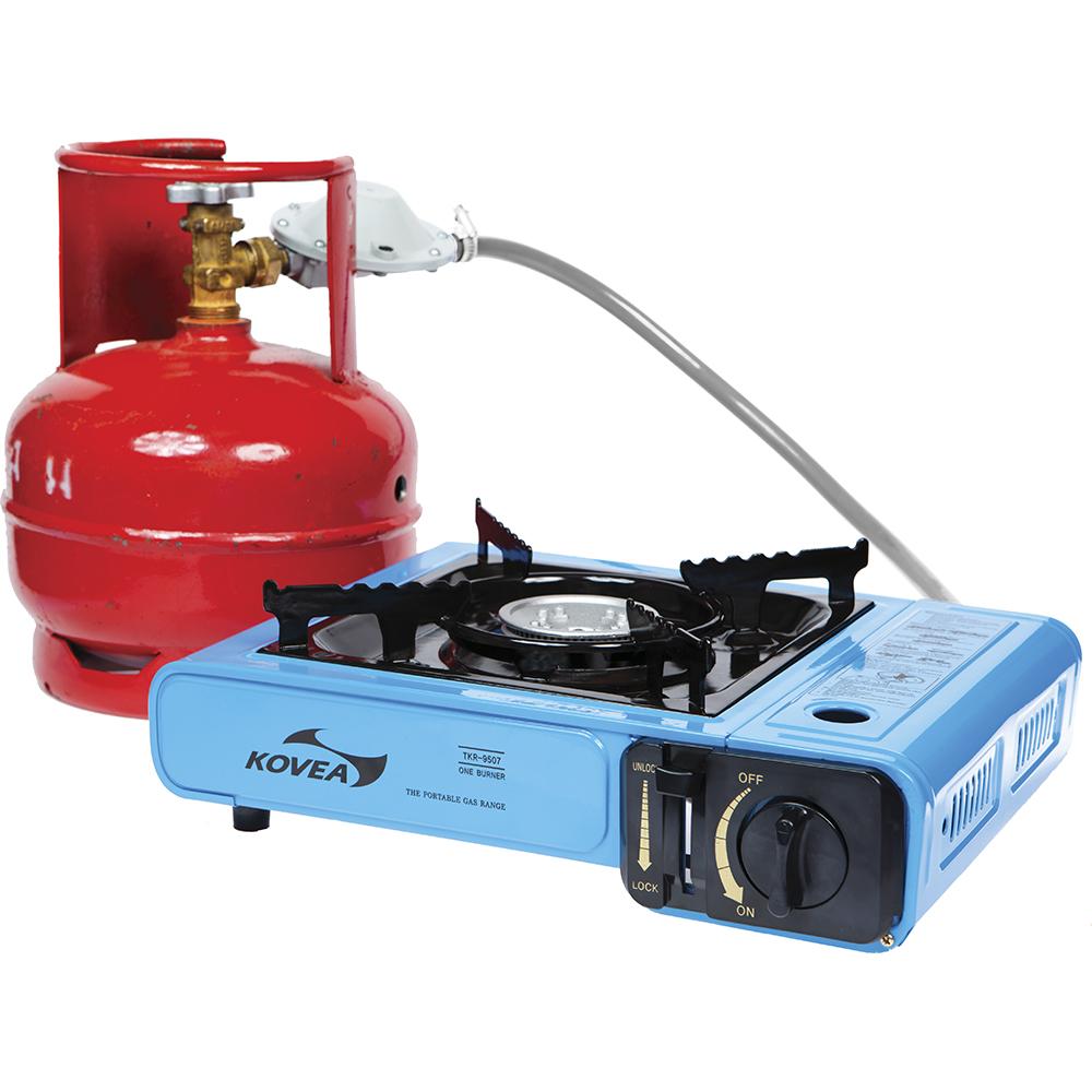 Плита газовая (переходник на 5 л баллон) Kovea TKR-9507-P Portable Range