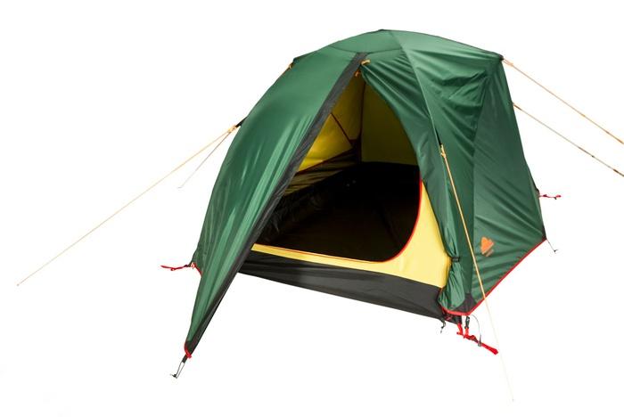 Палатка KAROK 2 Fib green, 9135.2201, Палатки двухместные - арт. 1027210320