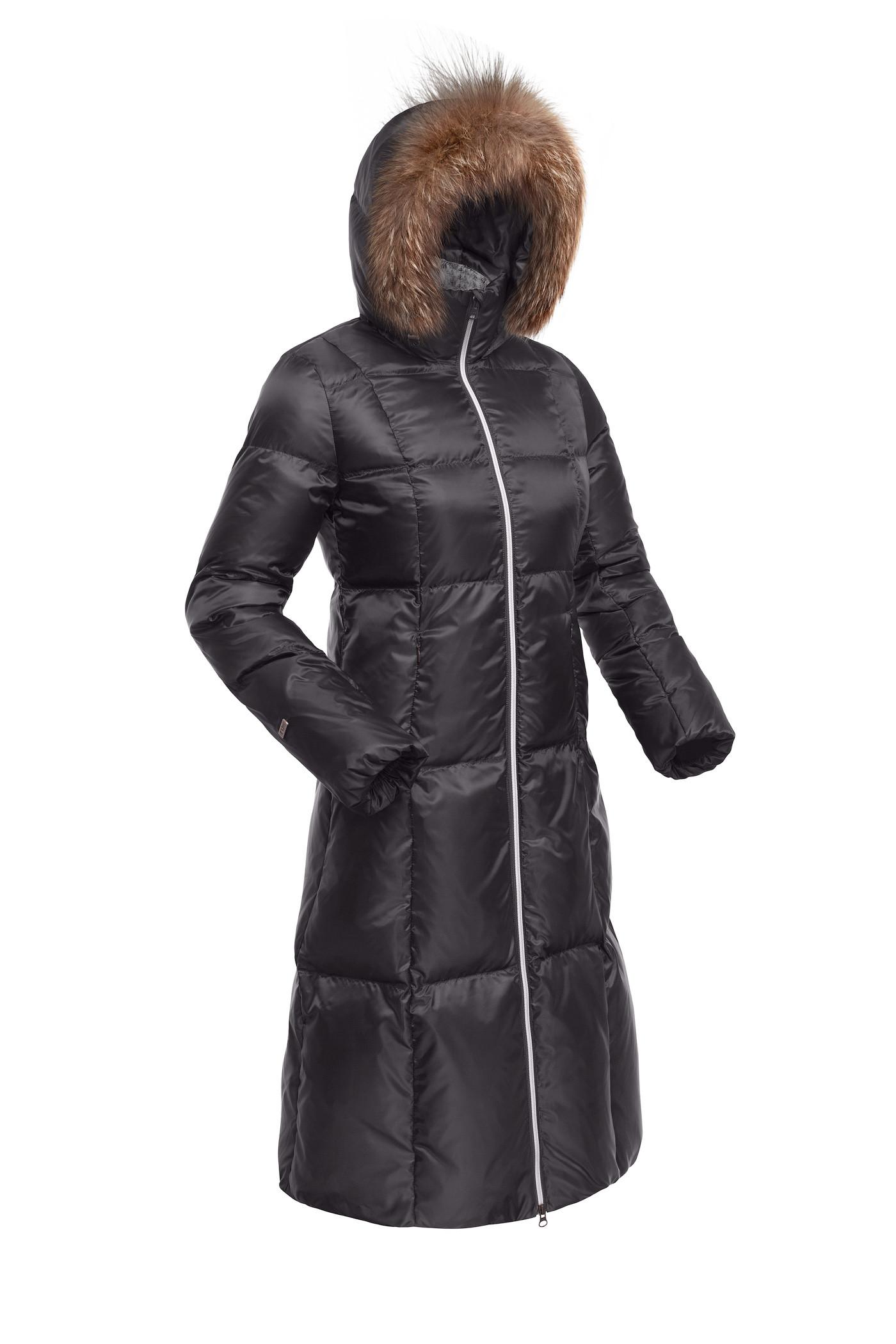Пальто пуховое женское BASK DANA темно-серый, Пальто - арт. 995980409