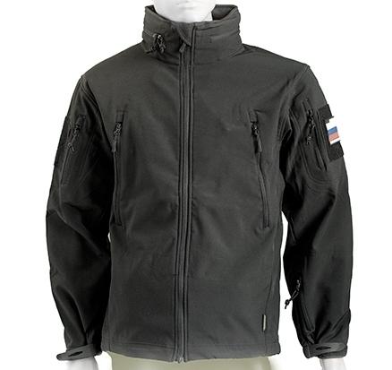 КУРТКА ОПЕРАТИВНИК SOFT SHELLGSG-4 черная Garsing, Куртки из Softshell и Windbloc - арт. 902790329