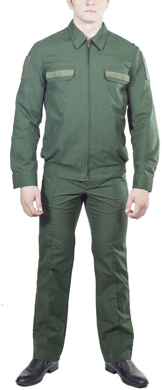 Костюм штаб МПА-35, ткань рип-стоп темно зеленый, Форменные костюмы - арт. 864870247