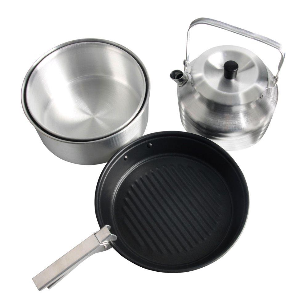Набор посуды для 4х (2кастрюли, чайник, сковорода), Чайники - арт. 715330172