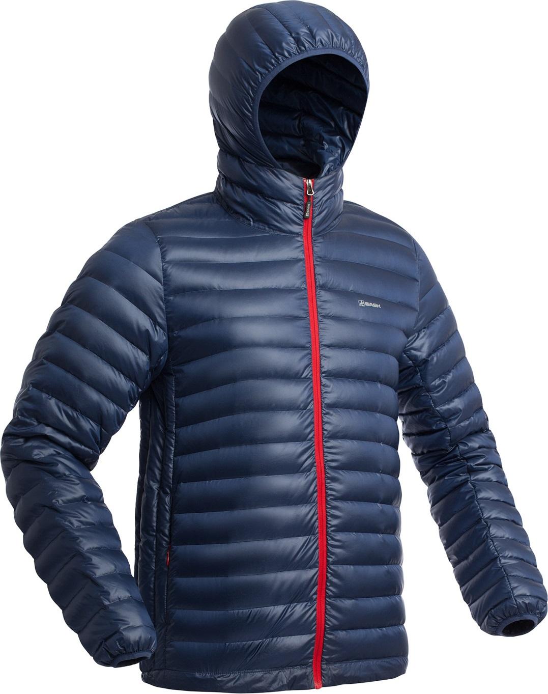 Куртка пуховая BASK CHAMONIX LIGHT MJ синий тмн, Куртки - арт. 1149370156
