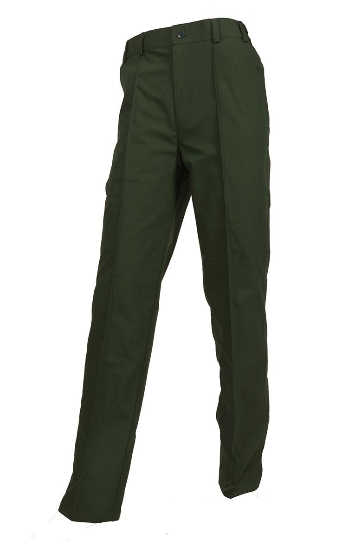 Брюки офисные МО мужские зеленые, Форменные брюки - арт. 1019090347
